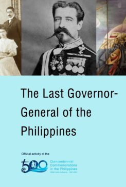 Countdown to 500 No. 7: The Last Spanish Governor General of the Philippines