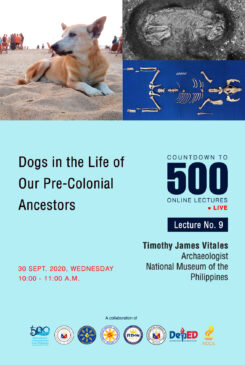 Countdown to 500 No. 9: Dogs in the Life of Our Pre-Colonial Ancestors