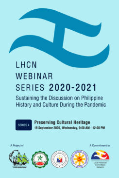 Local Historical Committees Network – DLSU Dasmariñas Cavite Studies Center Webinar No. 3: Preserving Cultural Heritage