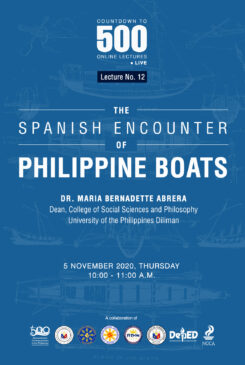 Countdown to 500 No. 12: The Spanish Encounter of Philippine Boats