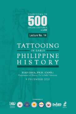 Countdown to 500 No. 14: Tattooing in Early Philippine History