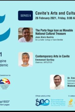 Local Historical Committees Network – DLSU Dasmariñas Cavite Studies Center Webinar No. 9: