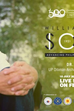 Quincentennial Lecture Series No. 9 | William Henry Scott – Advancing Philippine Pre-Colonial History